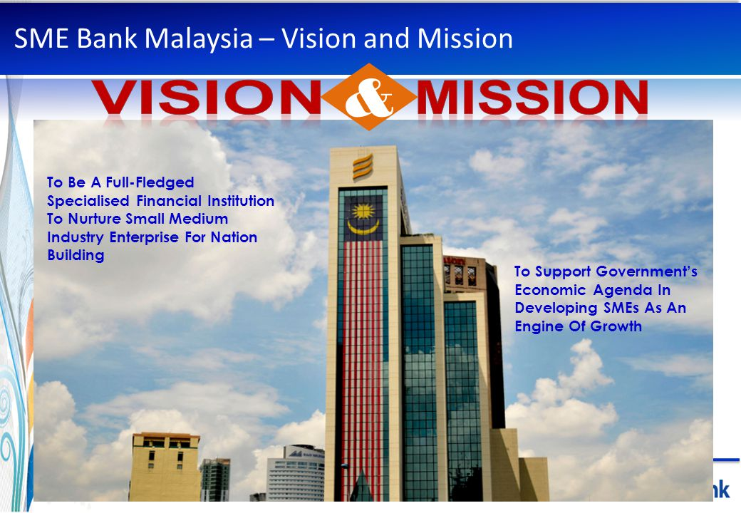 SME Bank Malaysia – Vision and Mission