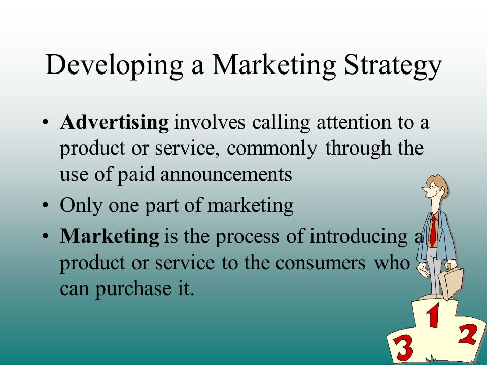 Developing a Marketing Strategy