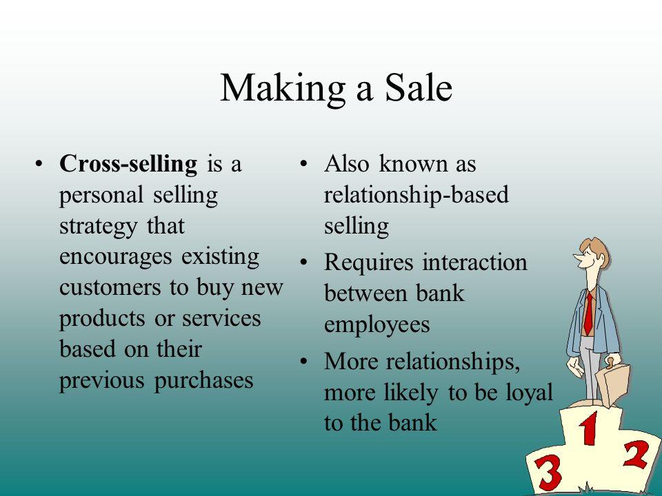 Making a Sale