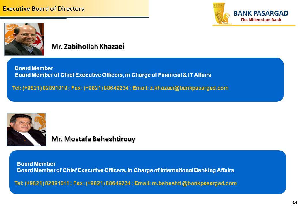 Mr. Mostafa Beheshtirouy