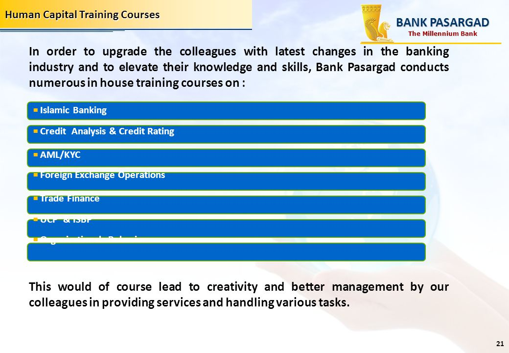 Human Capital Training Courses