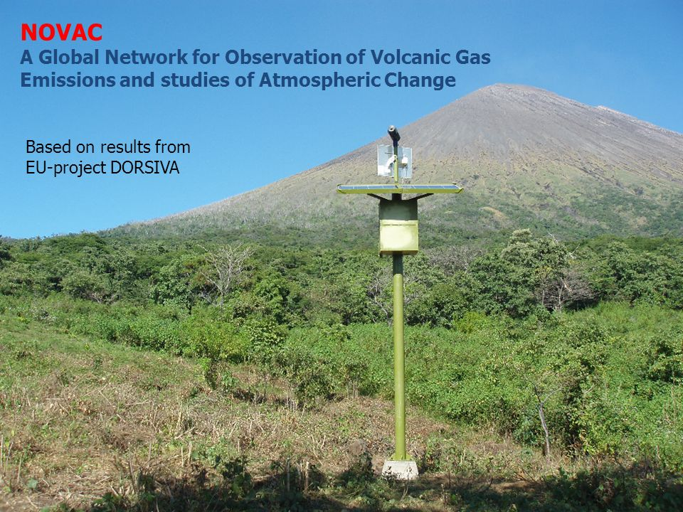 NOVAC A Global Network for Observation of Volcanic Gas Emissions and studies of Atmospheric Change.