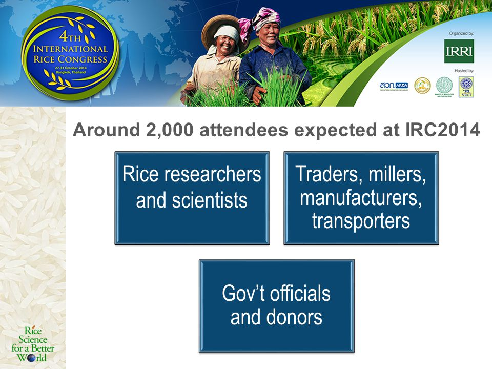 Around 2,000 attendees expected at IRC2014