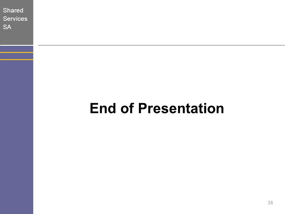 End of Presentation 36