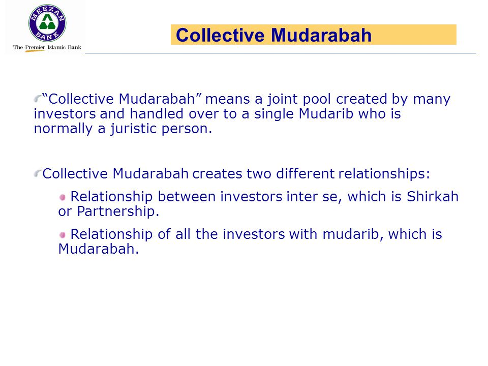 Collective Mudarabah