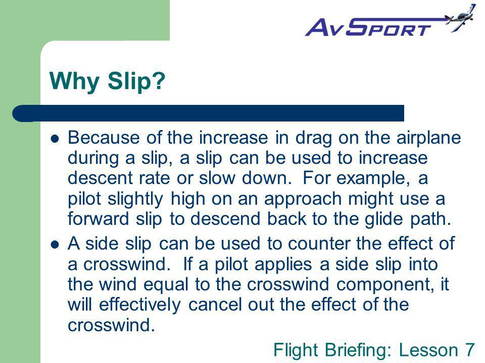 Why Slip