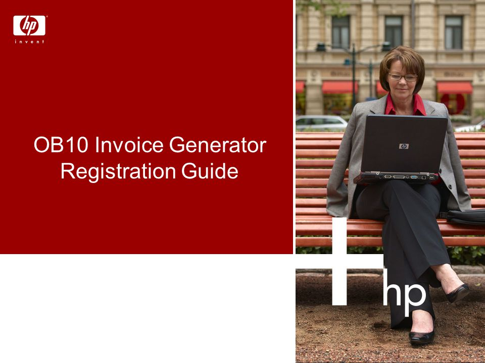 OB10 Invoice Generator Registration Guide
