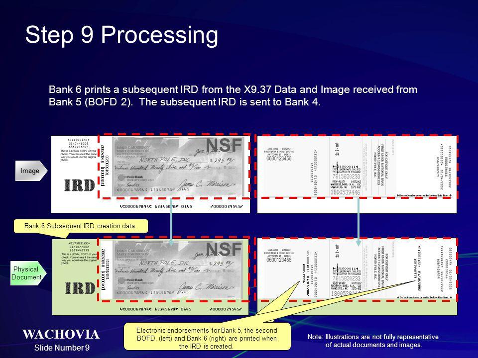 Step 9 Processing NSF NSF