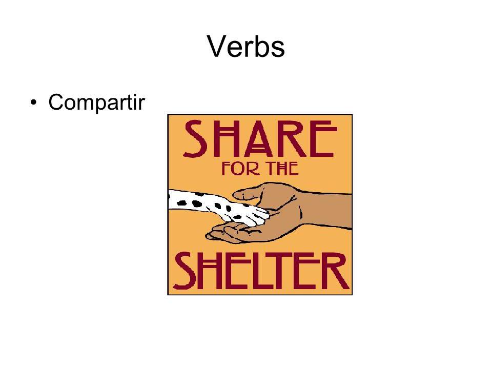 Verbs Compartir