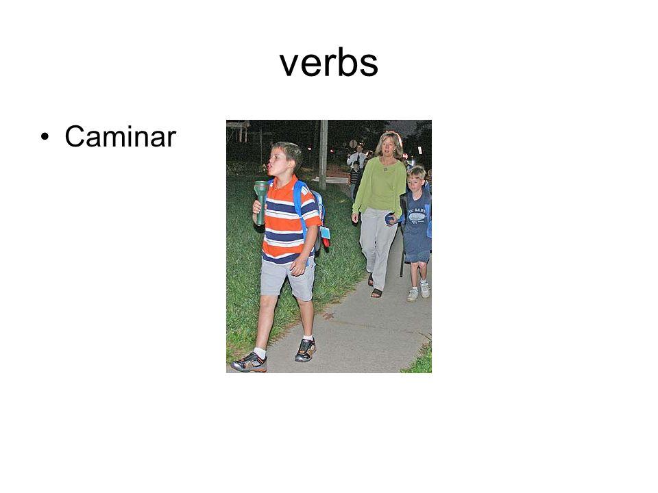 verbs Caminar