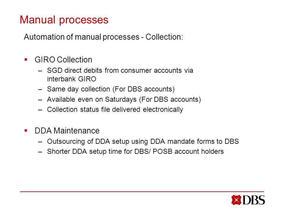Manual processes Automation of manual processes - Collection: