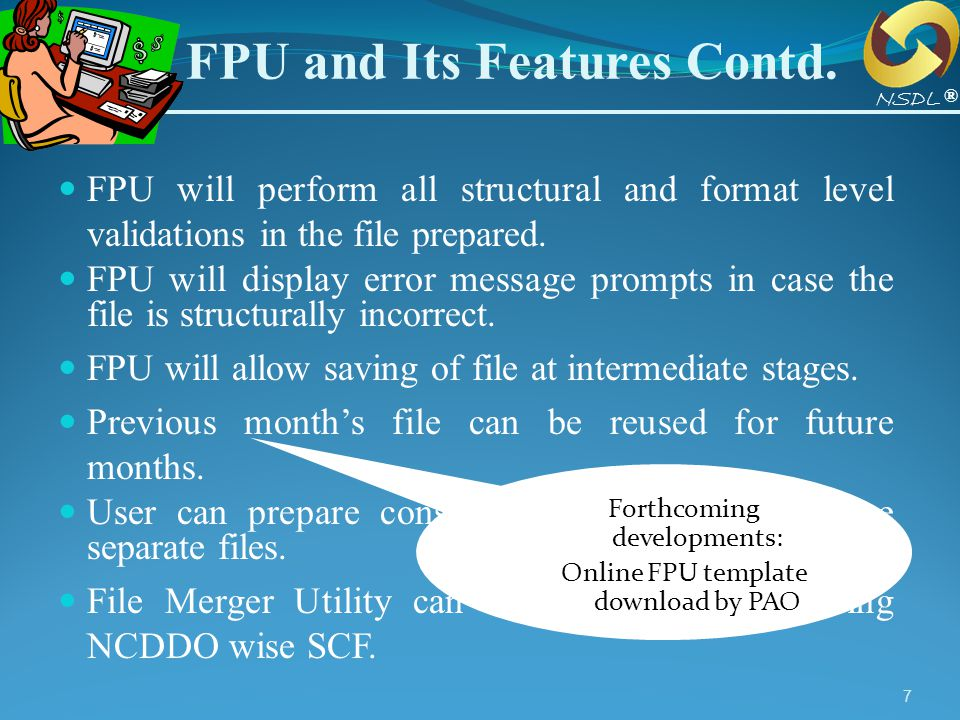FPU and Its Features Contd.