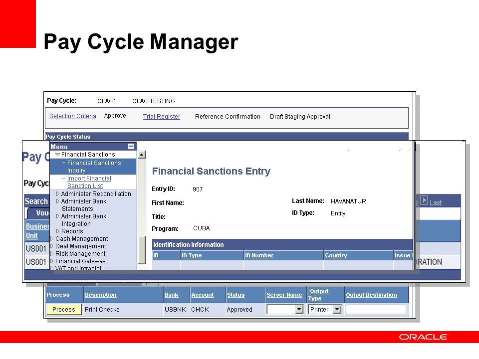 Pay Cycle Manager