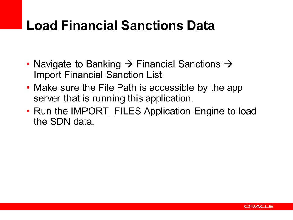 Load Financial Sanctions Data