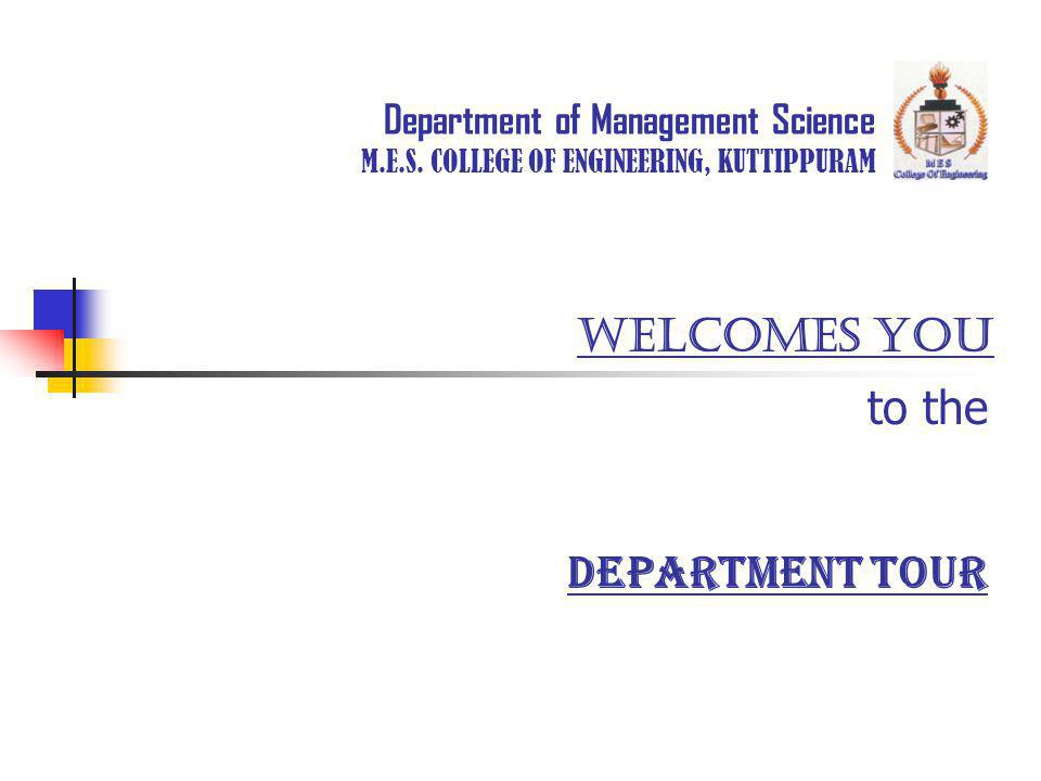 Department of Management Science