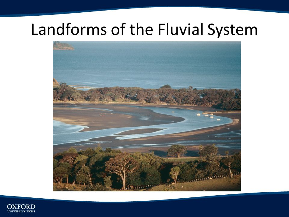 Landforms of the Fluvial System