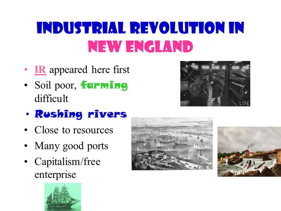 Industrial Revolution in New England