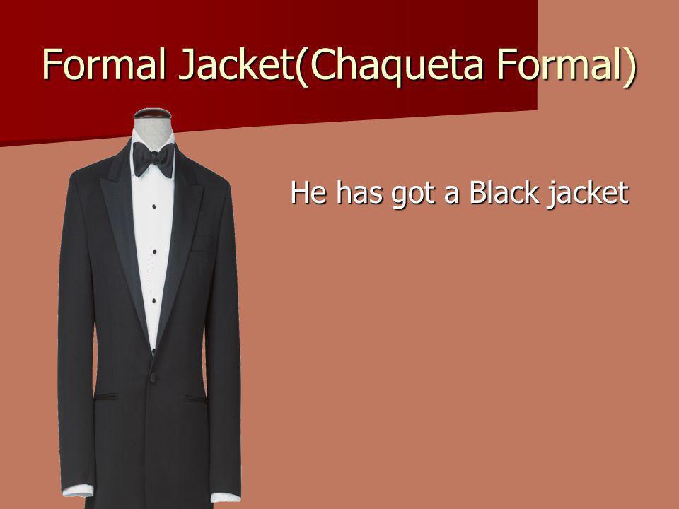 Formal Jacket(Chaqueta Formal)