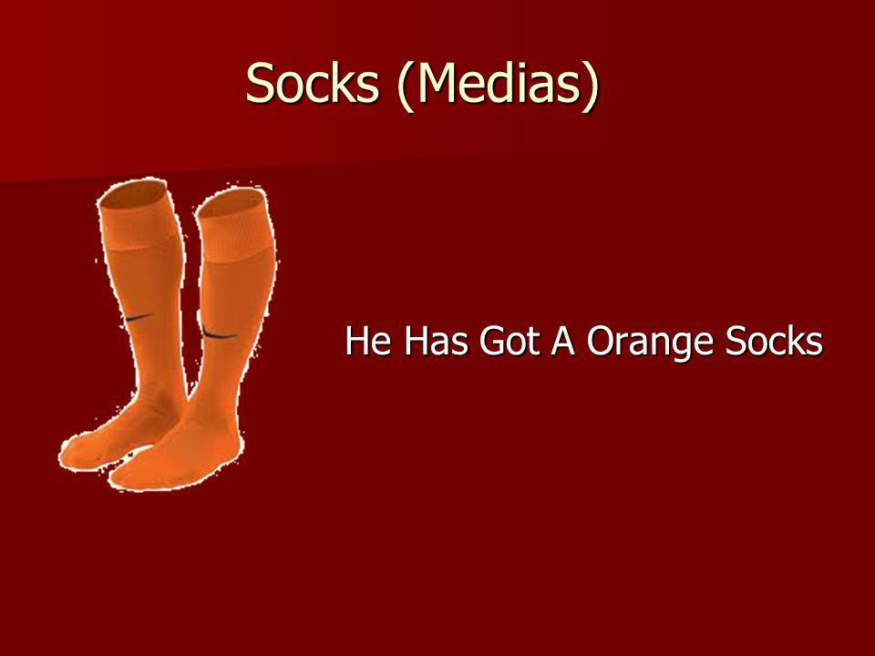 Socks (Medias) He Has Got A Orange Socks