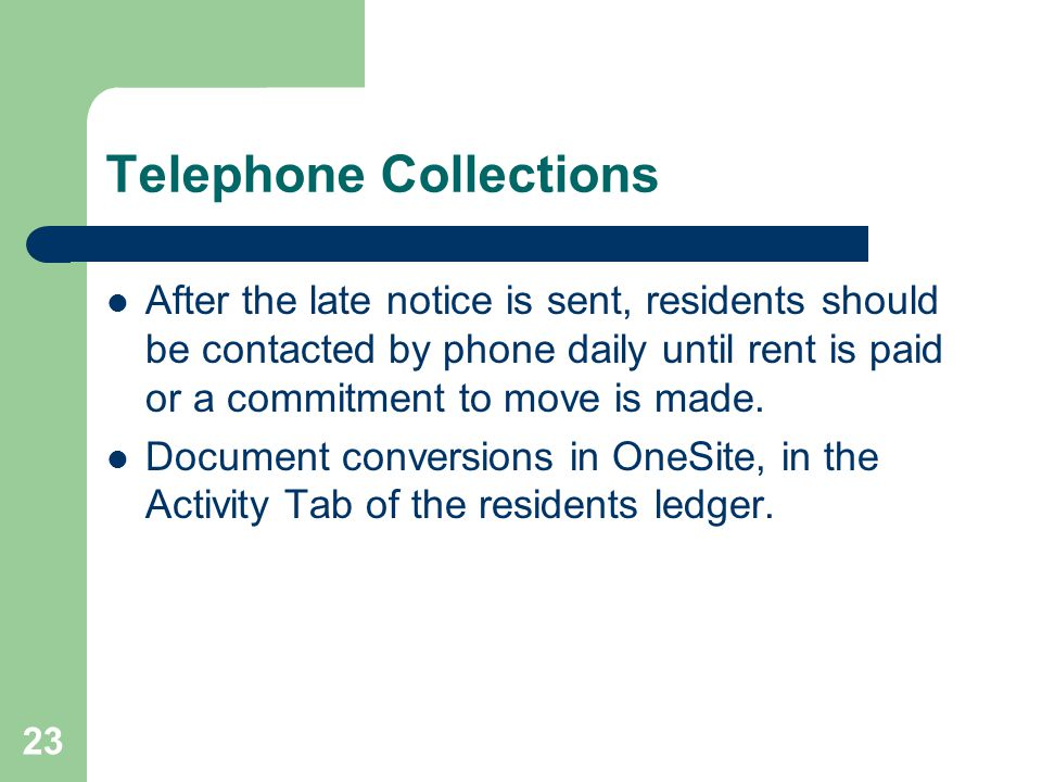 Telephone Collections