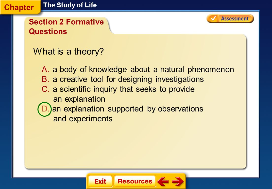 What is a theory a body of knowledge about a natural phenomenon