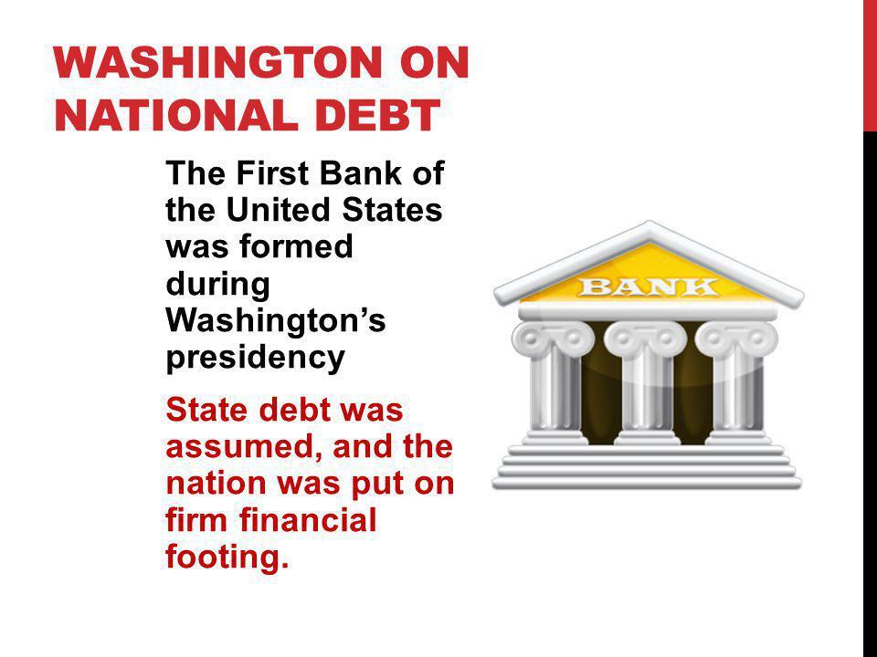 Washington on National Debt