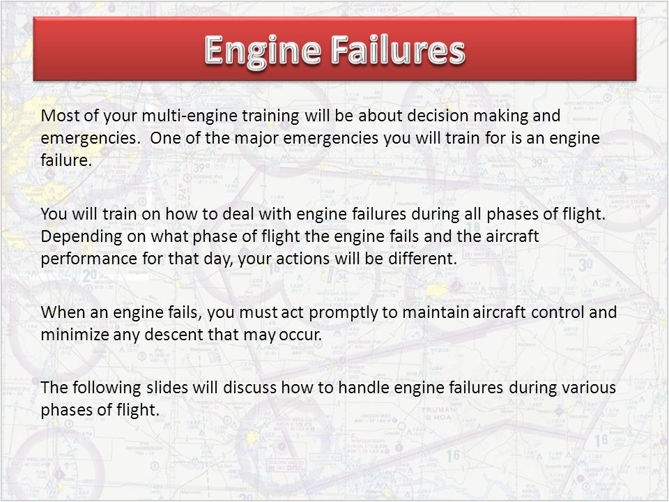 Engine Failures
