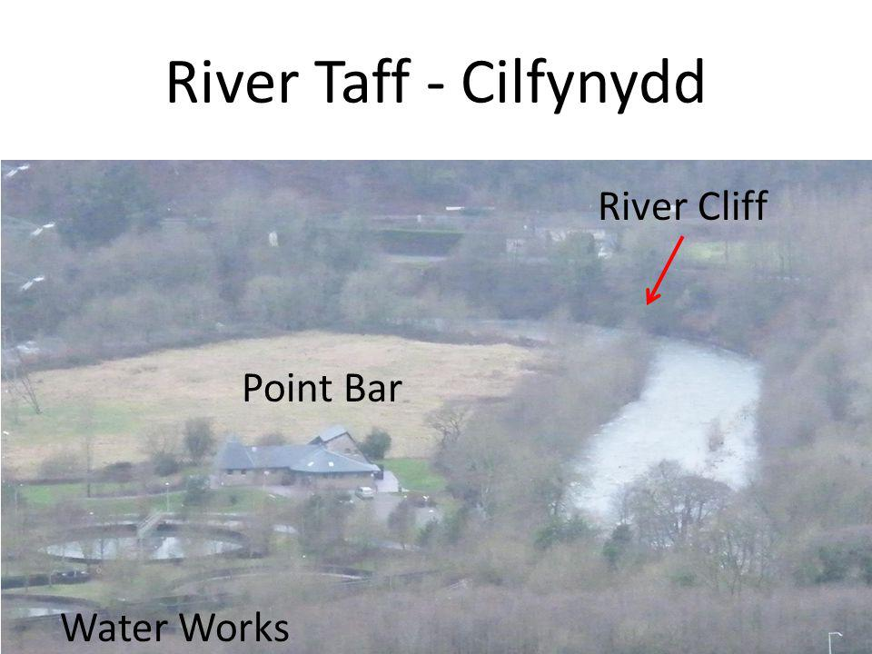 River Taff - Cilfynydd River Cliff Point Bar Water Works
