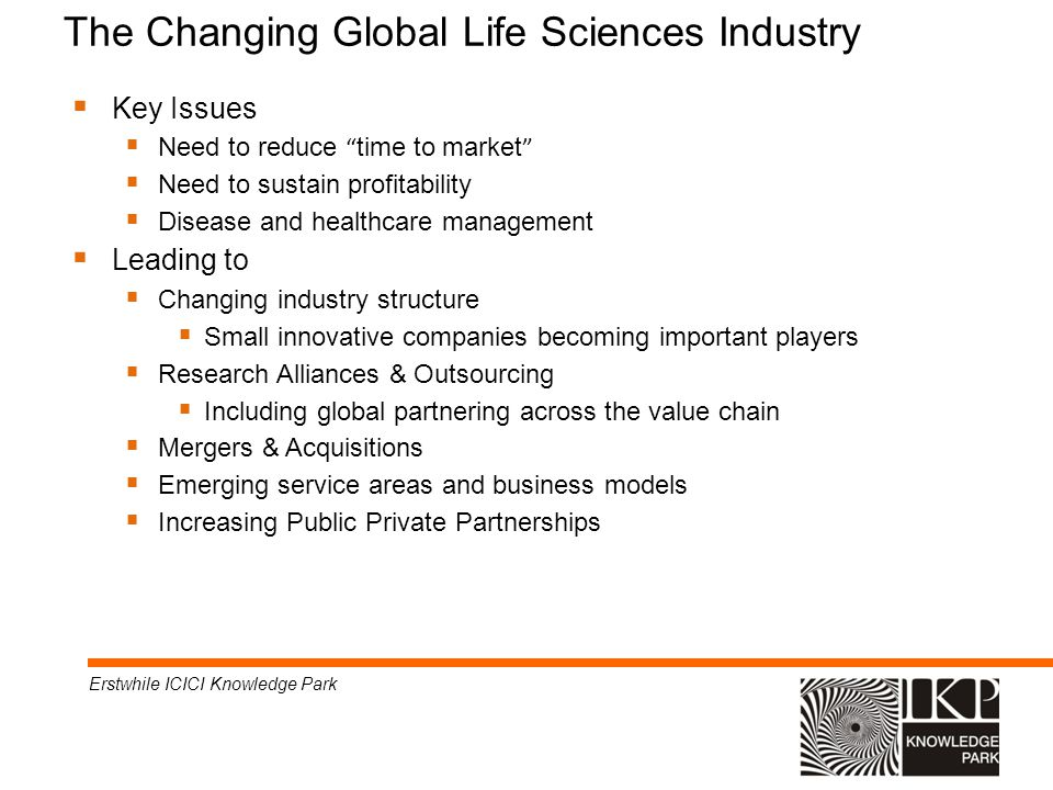 The Changing Global Life Sciences Industry