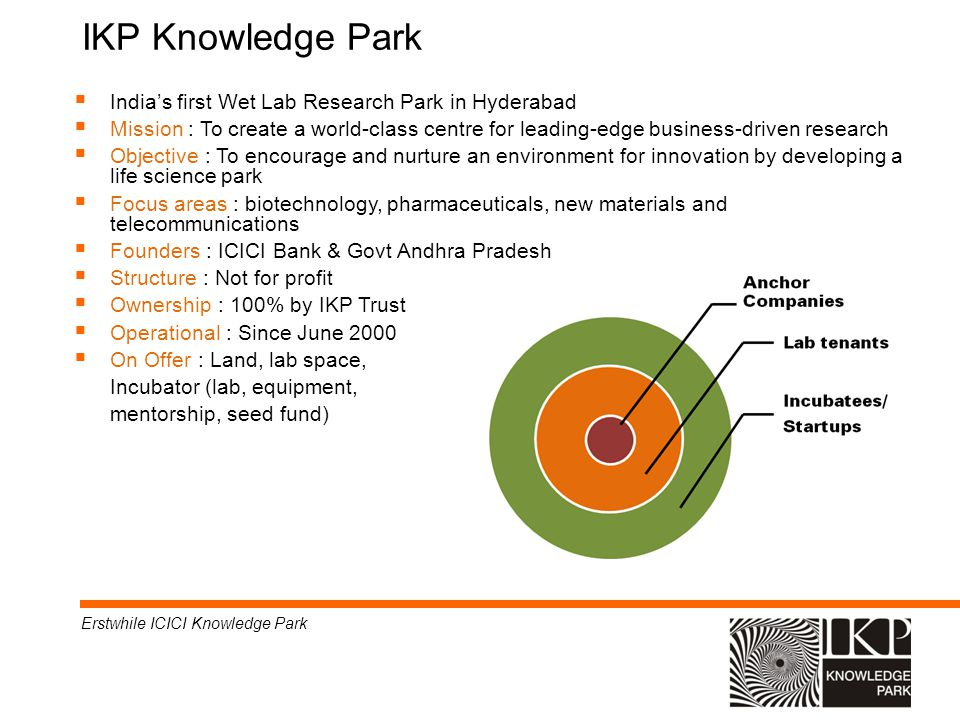 IKP Knowledge Park India's first Wet Lab Research Park in Hyderabad