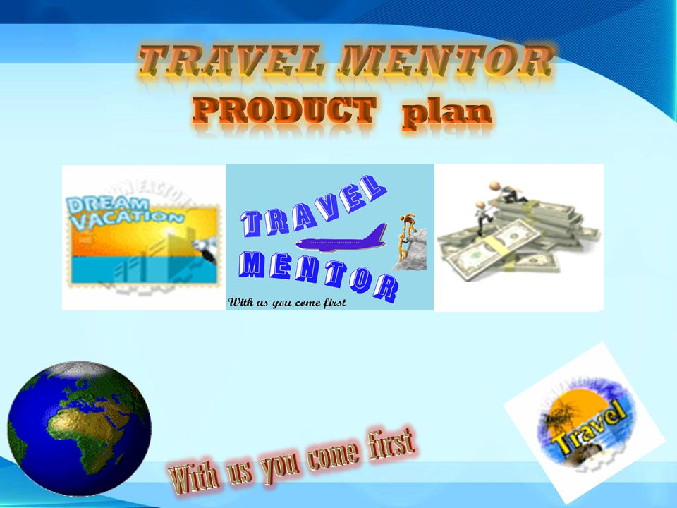 TRAVEL MENTOR PRODUCT plan