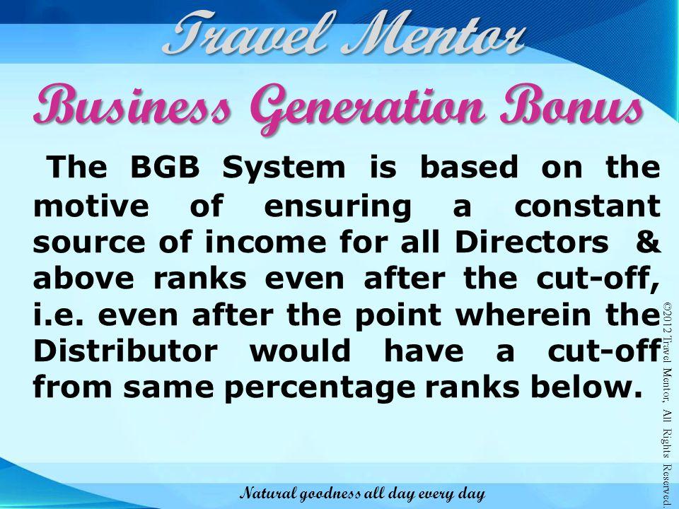 Business Generation Bonus
