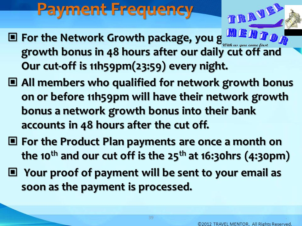Payment Frequency