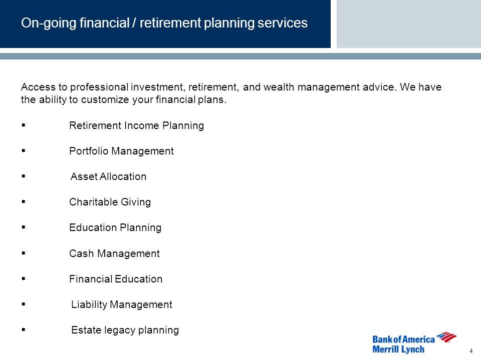 Platform Features Investment Research Online portfolio changes