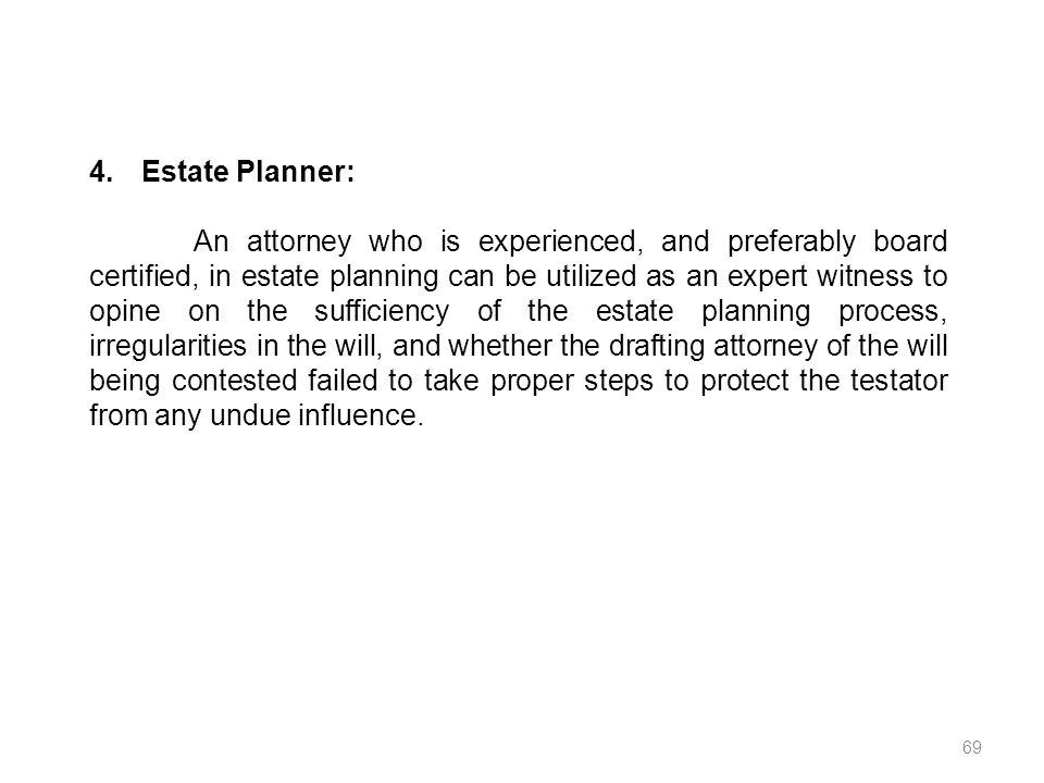 4. Estate Planner:
