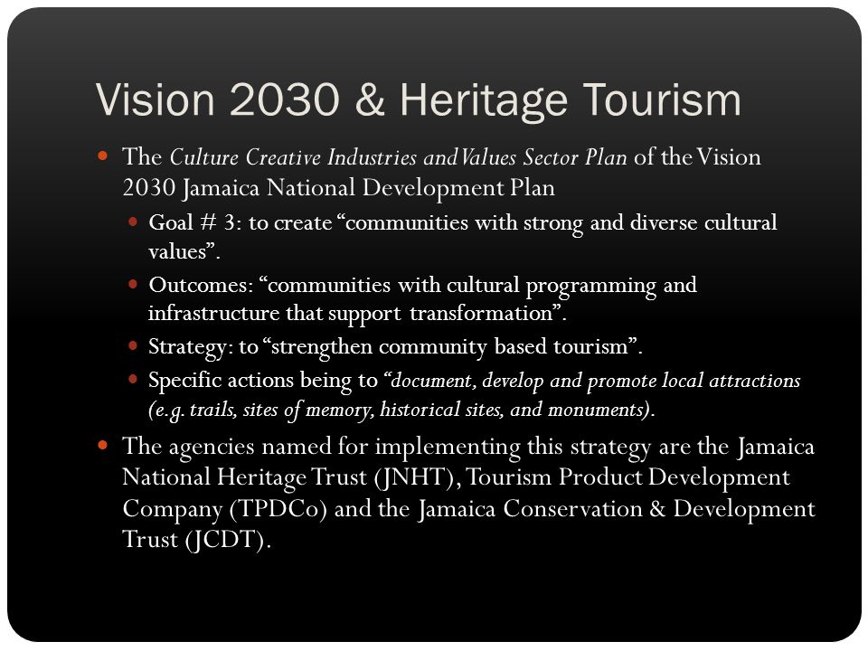 Vision 2030 & Heritage Tourism