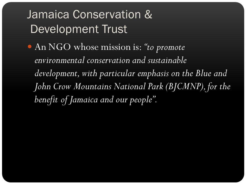 Jamaica Conservation & Development Trust