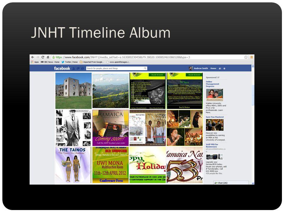 JNHT Timeline Album