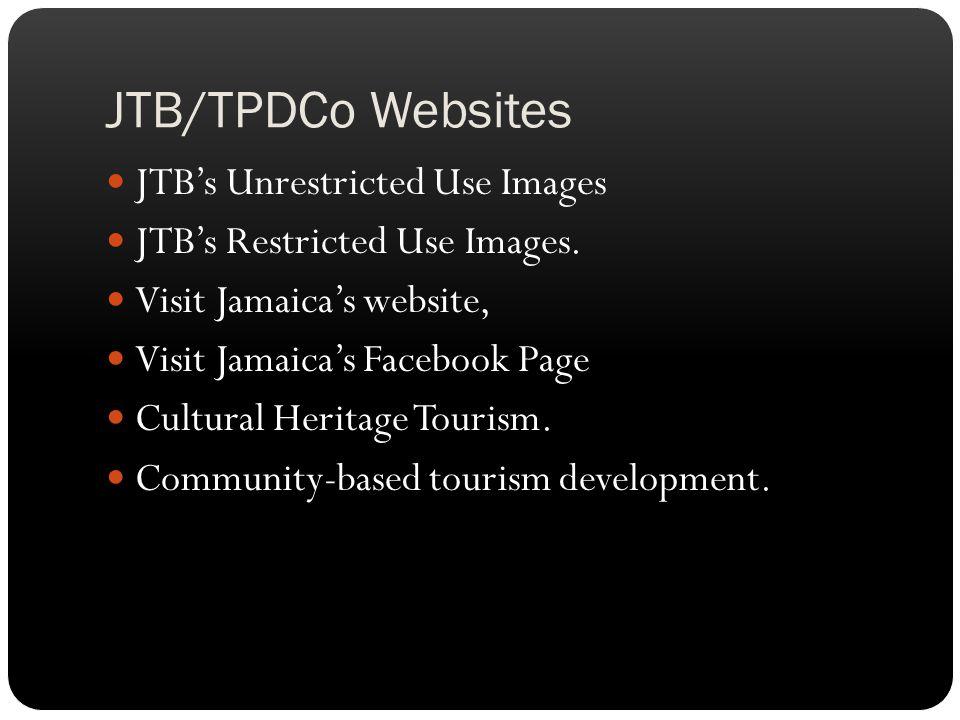 JTB/TPDCo Websites JTB's Unrestricted Use Images