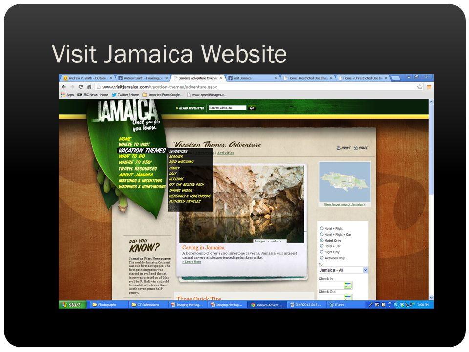 Visit Jamaica Website