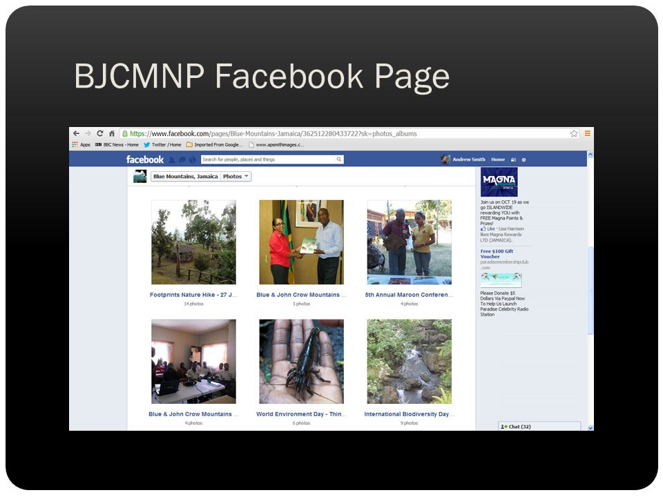 BJCMNP Facebook Page