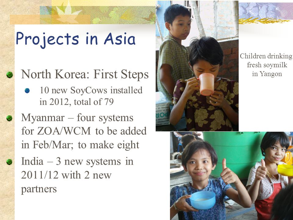 Projects in Asia North Korea: First Steps