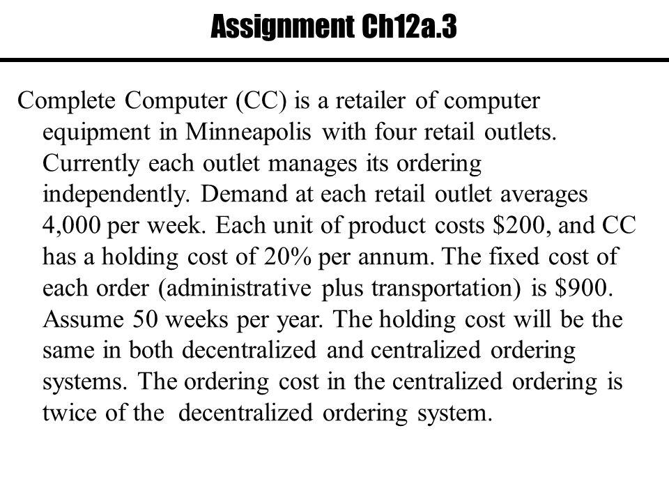 Assignment Ch12a.3