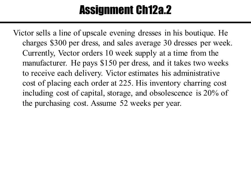 Assignment Ch12a.2