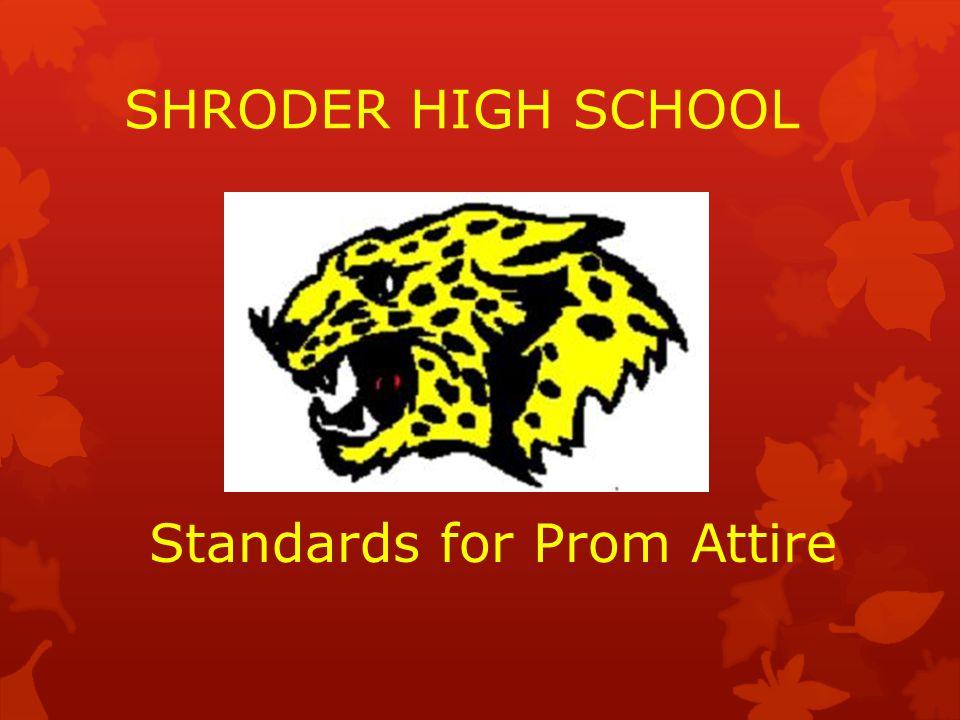 Standards for Prom Attire