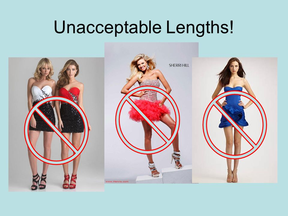 Unacceptable Lengths!