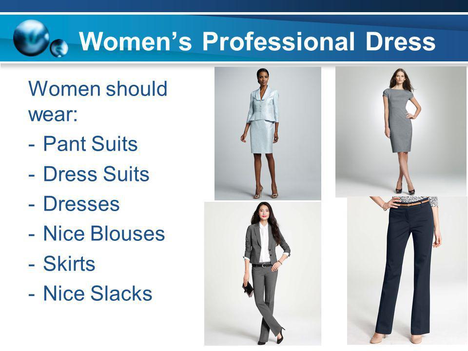 Women's Professional Dress