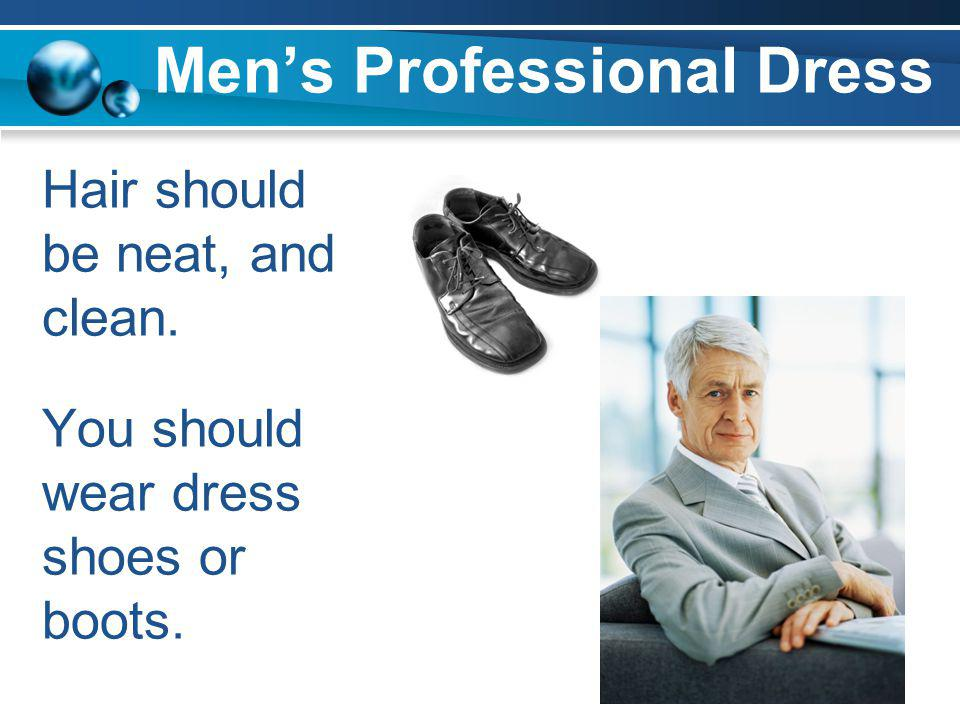 Men's Professional Dress