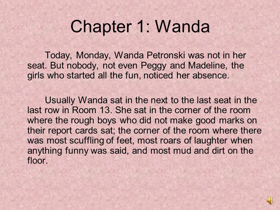 Chapter 1: Wanda
