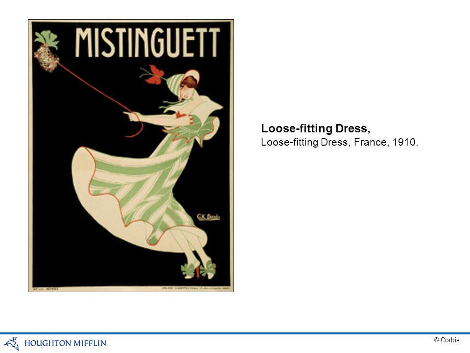 Loose-fitting Dress, Loose-fitting Dress, France, 1910. © Corbis